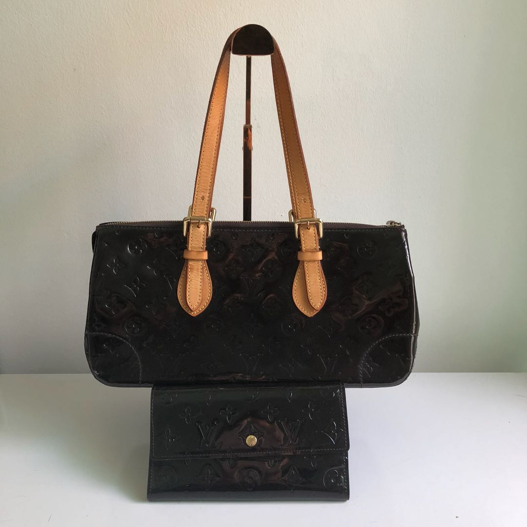 095f53f52b5b LV Vernis Bag And Wallet, Luxury, Bags & Wallets on Carousell