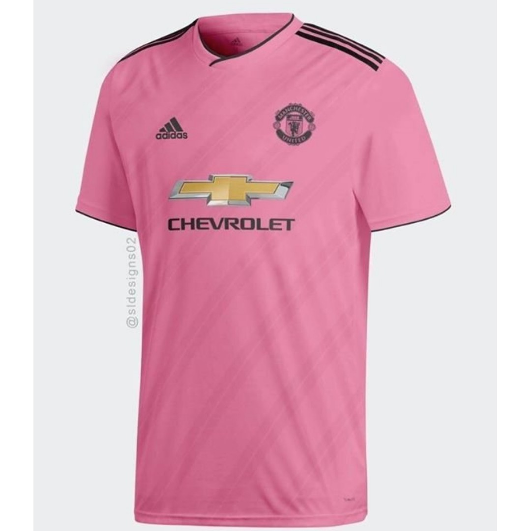 4497bf5fdbc Manchester United Away Kit 2018 19