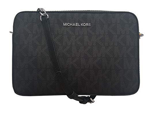 e731480ab43f36 Michael Kors Jet Set Item Crossbody Bag/ Slingbag MK Signature Bag ...
