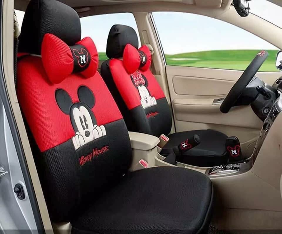 Mickey Car Seat Covers Auto Accessories Others On Carousell