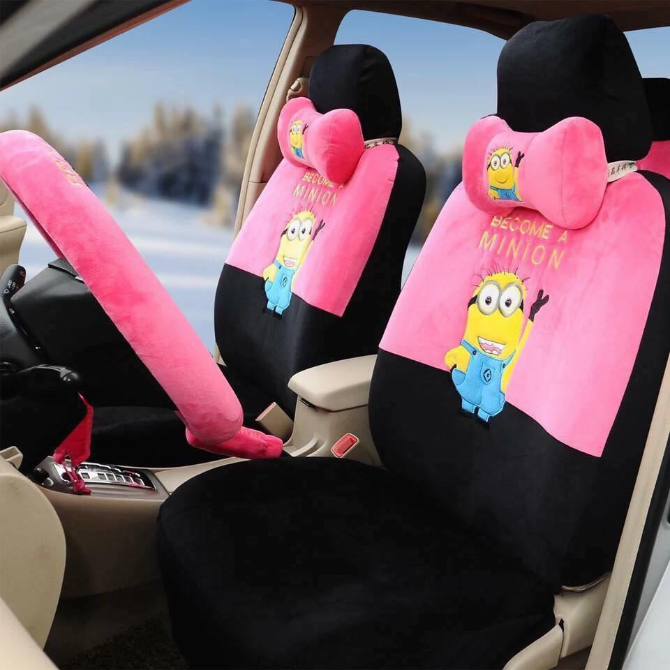 Minion Car Seat Covers Auto Accessories Others On Carousell