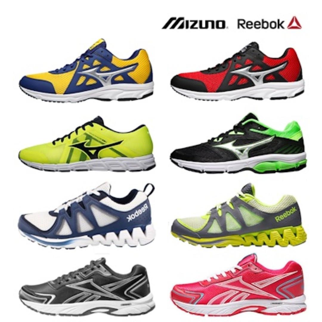 766a4447e ☆Mizuno Reebok☆ Authentic Running Sports Shoes Sneaker Training ...