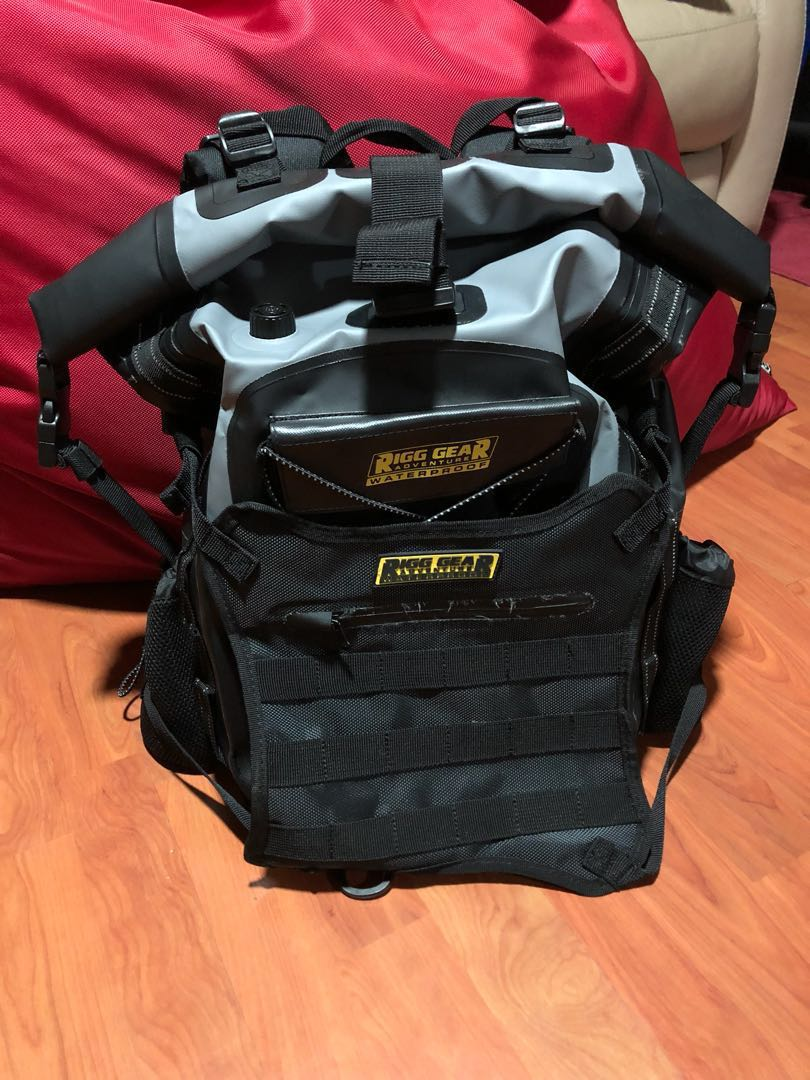 d140809623a Nelson Rigg Hurricane 20L Backpack Tailpack Waterproof