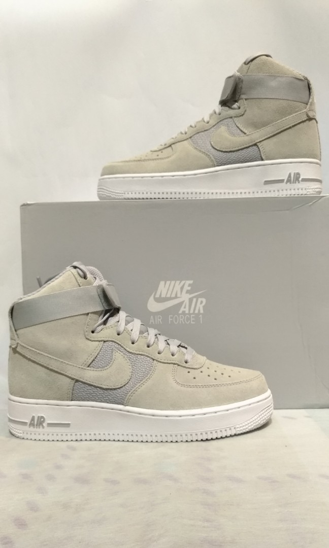 d1bf483d76e Nike Air Force 1 High  07 Pure Platinum Wolf Grey-White