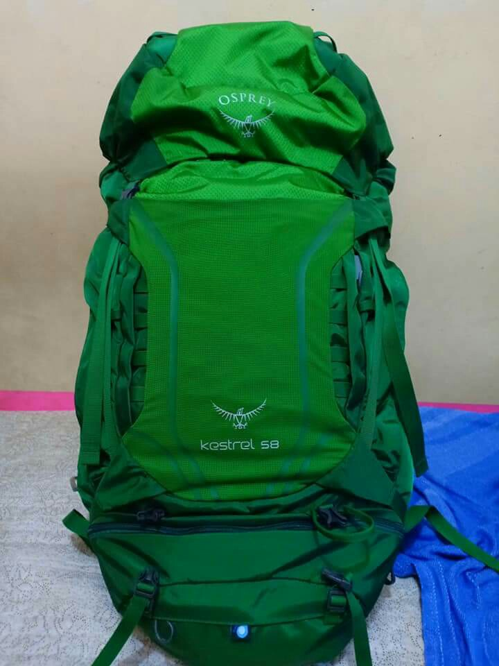 eee705e8375 Osprey Kestrel 58, Travel Essentials, Outdoor & Camping on Carousell