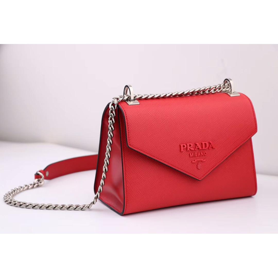 5ea6729a8622 Prada Red Handbag