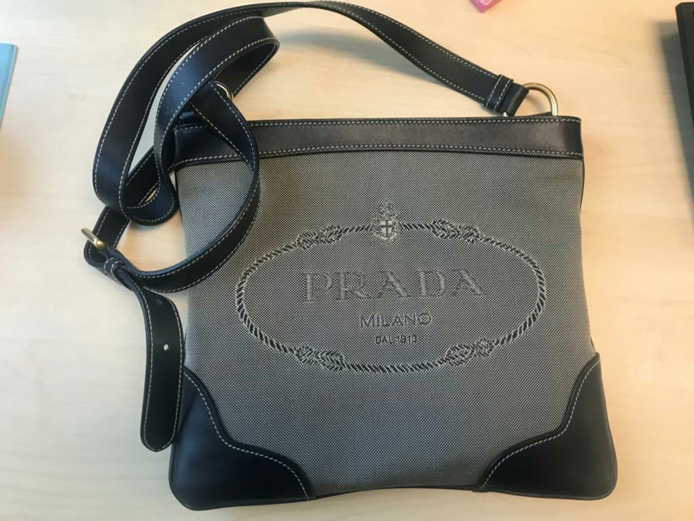 923a2be9e0f1 PRADA SLING BAG, Luxury, Bags & Wallets, Sling Bags on Carousell