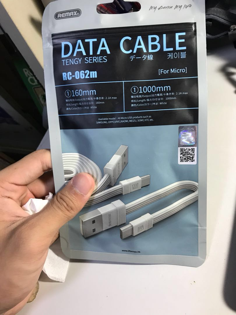 Remax Android Charger Cable Mobiles Tablets Others On Carousell Buy 1 Get 7 Batok 1a Photo
