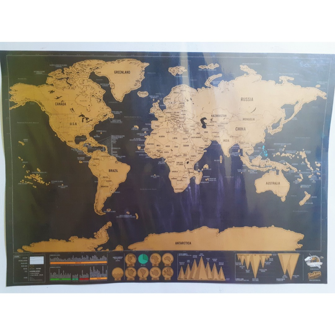 Scratch world map deluxe travel travel essentials travel photo photo gumiabroncs Images
