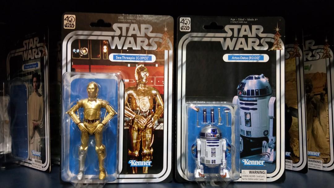 Star Wars 40th anniversary vintage set of 12