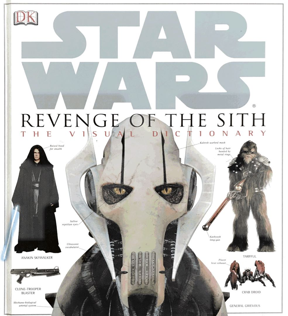 Star Wars Revenge Of The Sith The Visual Dictionary Toys Games Other Toys On Carousell