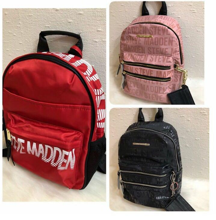 db6832dd35b Steve madden backpack 💯US authentic on Carousell