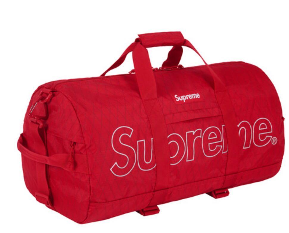 d8023aa741 Supreme Duffle Bag Ss18 Men S Fashion Bags Wallets Backpacks On