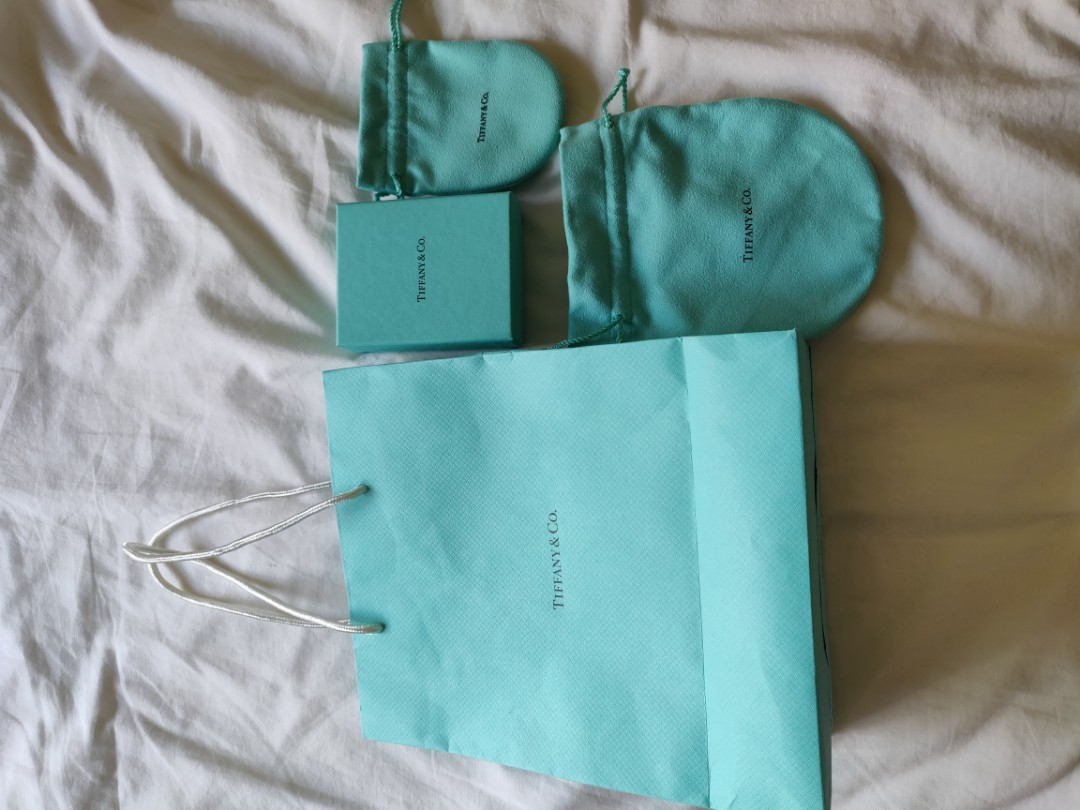 17d77bc224 Tiffany and Co box and paper bag, Women's Fashion, Accessories ...