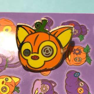 Disney pin gelatoni halloween 迪士尼樂園徽章 萬聖節襟章 畫家貓