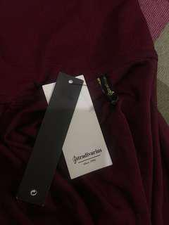 NWT Dark Red/ Maroon Stradivarius Loose Turtle Neck