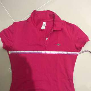 Authentic 💯🔥👚 Lacoste pink polo