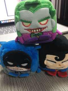 Kawaii Cubes-Batman/Superman/Joker 公仔