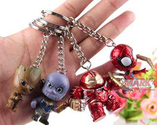 FOR SALE!!! Avengers: Marvel's Avengers Infinity War: Cosbaby Bobblehead Keychains