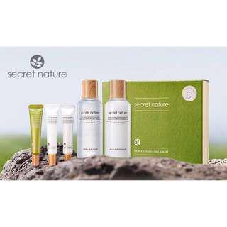 Secret Nature From Jeju Skin Care Set