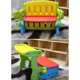 Multi-function Storage, Table, & Chair / Bench For Kids
