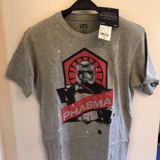 Uniqlo grey Star Wars t shirt 星球大戰 T恤