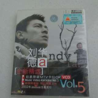Andy Lau Music VCD Karaoke