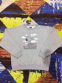 Snoopy sweatshirt