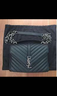 Ysl medium college monogram手袋