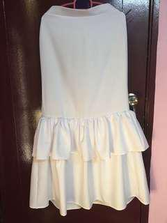 Two tiered skirt
