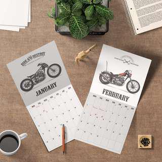 Custom Bike 2019 Calendar