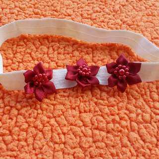 Headband bayi bunga