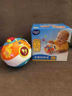 Like-new Vtech move and crawl ball 6-24mths