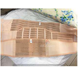 HIGH QUALITY 3 in 1 BENGKUNG Postpartum Abdomen Belt Size L