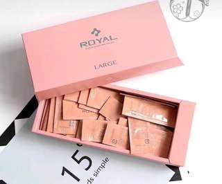 *包順風*日本空運本土版 🇯🇵日本royal皇家臍帶血引流精華最新版官方二維碼 !盒裝90袋