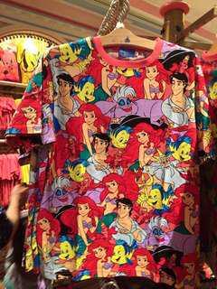 🚚 日本迪士尼,小美人魚滿版上衣✨