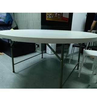 流動折疊12人圓桌