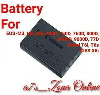 Baterai/Battery For Canon LP-E17