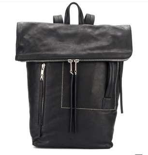 Rick Owens 2018 Leather backpack