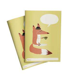 🚚 Set of 2 FOX Exercise Books