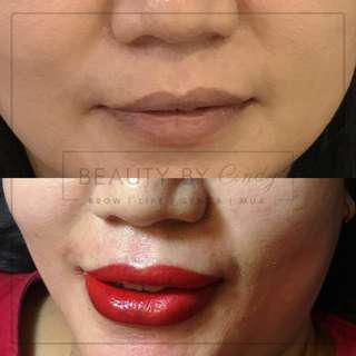 Sulam Bibir Nano Lips + 1x Free Retouch