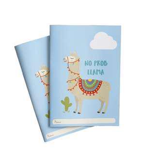 🚚 No Prob Llama Exercise Book x 2