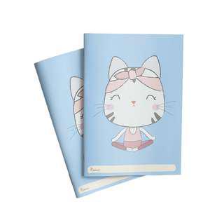 🚚 Hello Kitten Yoga Notebook x 2