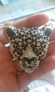 24K Gold Cheetah Necklace
