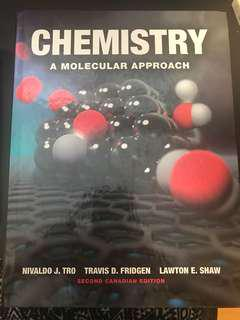Intro to Chem textbook
