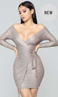 Fashionnova wrap dress