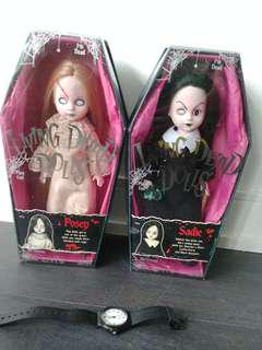 Lving Dead Dolls Series 1 (Sadie and Posey), 13th Anniversary Edition