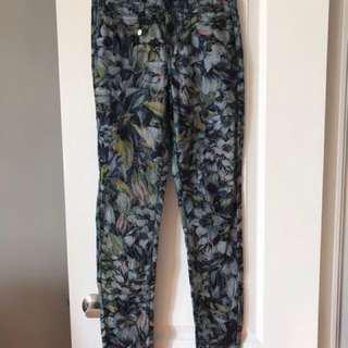 Veto moda floral skinny jeans