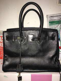 Hermes birkin25 with stamp and code