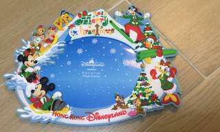 香港迪士尼聖誕節限定相架